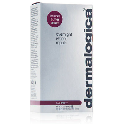 Dermalogica Overnight Retinol Repair 30ml Age Smart Includes Buffer Cream