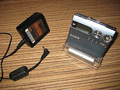 Sony Minidisc Player Recorder MD N910 Blau + Ladestation (78)