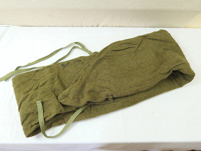 US015 Original US ARMY WW2 Bag Sleeping Wool Schlafsack TOP Depotware Label