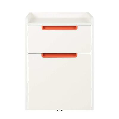 DEVAISE 2-Drawer Mobile File Cabinet Home Office Furniture Filing Cabinets
