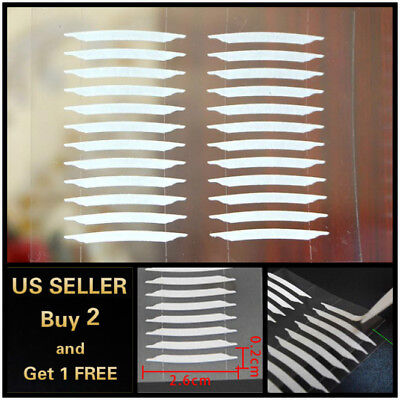 120/360PCs Double sided Invisible Thin Eyelid Clear Adhesive Sticker Tape