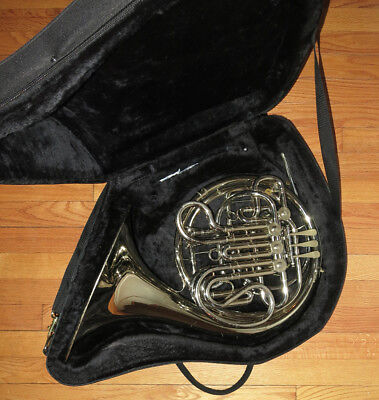 HOLTON FARKAS H179 Nickel Silver DOUBLE FRENCH HORN 2Cases New MDC +Extras H-179