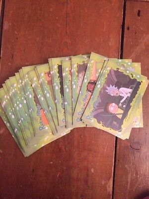 2018 Cryptozoic Rick and Morty Trading Cards complete base set lot 45