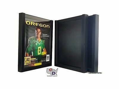 UV Protecting Lot of 3 Magazine Display Case Frame for Standard Sized Magazines