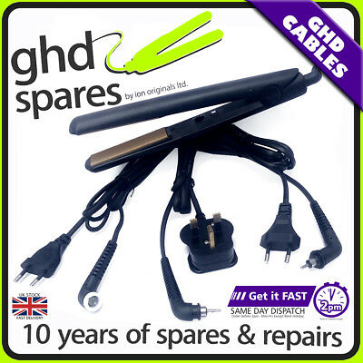 Cable for GHD Hair Straightener Repair Power Cord Wire - 3.1b 4.1b 4.2b 5.0 SS2