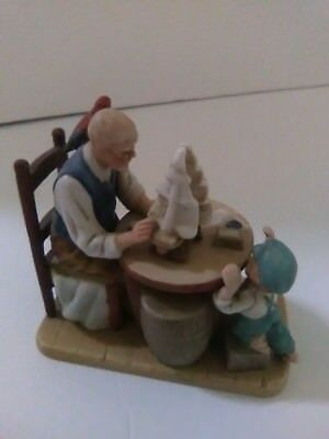 "Norman Rockwell ""For a Good Boy"" minature figurine"