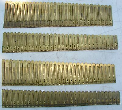 122 Brass Reeds Estey Pump Organ Antique Used Parts Crafts Upcycle Repurpose