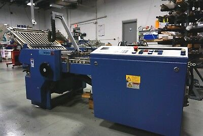 2009 MBO B30S Perfection 16-page, fully automated rollers / plates