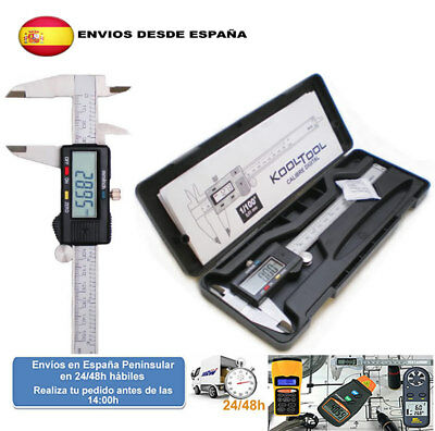 Calibre inoxidable digital caliper vernier con estuche (Envio express)