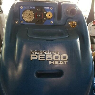 Prospector 500 Dual 3-stage Vacuums With Heat