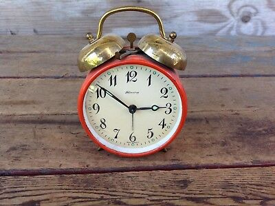 Vintage Blessing Alarm Clock - West Germany