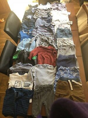 Baby Boy Clothes 3-6 months Bundle Next Adidas, Mothercare **37 Items**