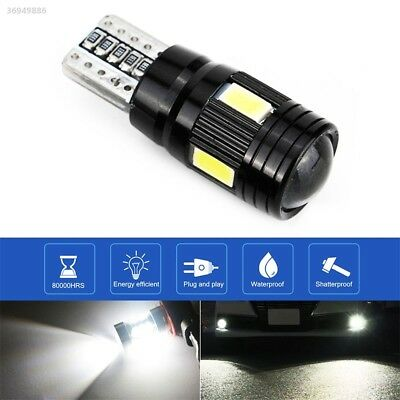 Rear Beads Car Side Light Durable T10 6 LED Light Auto Parking Tail 6ECF
