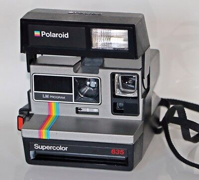 Polaroid Supercolor 635  Sofortbildkamera