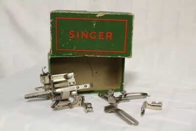 VINTAGE SINGER SIMANCO SEWING MACHINE ACCESSORIES - Made in Great Britain