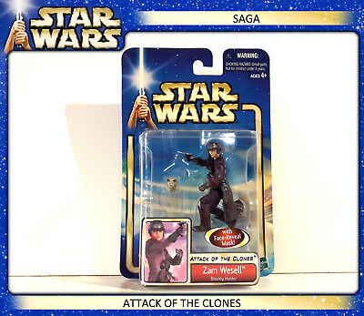 STAR WARS SAGA - Attack of the Clones: Zam Wesell (OVP)