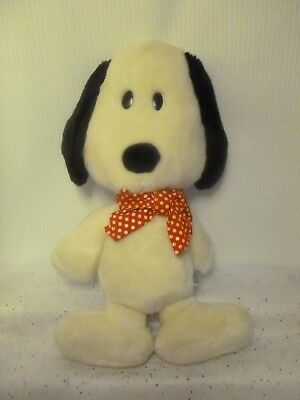 Vintage Snoopy Plush Stuffed Animal Rare Peanuts By Determined Products 15""