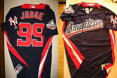 sports shoes ce121 85732 AARON JUDGE MAJESTIC 2018 MLB All-Star Game Home Run Derby Jersey - US  Seller