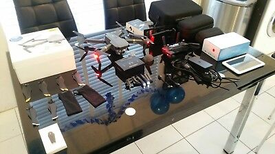 DJI Mavic Pro! Iconia 7 TABLET! Search light! 3 Cases! Feet Extensions! Plus +