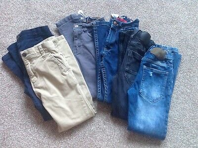 Boys Next skinny jeans bundle age 7 years excellent condition