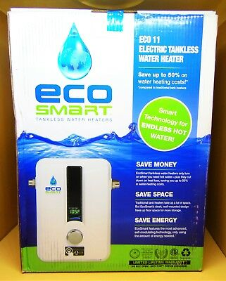 Ecosmart ECO 11 Electric Tankless Water Heater 240V 13KW
