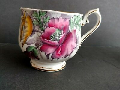Royal Albert Bone China Flower of the Month Made in England One Cup Only