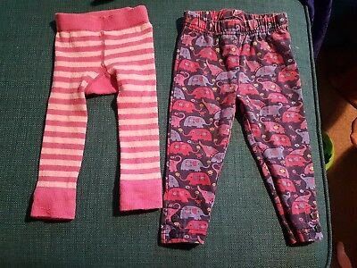 Baby Girls Jojo Maman Bebe Leggings 6-12 Months
