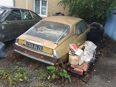 Citroen sm 1971 Totally original all original paperwork in the need restoration