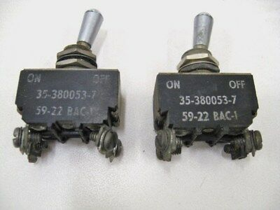 Beechcraft 35-380053-7 Switches - Lot # A605