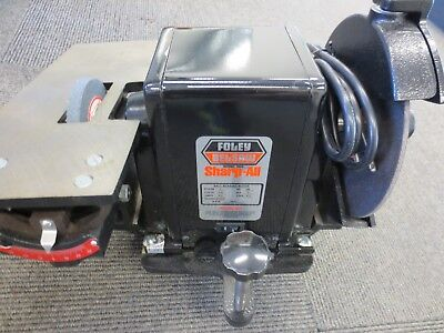 Foley Belsaw 1055 Sharp All Saw Blade Cutting Grinding Sharpening NEW!