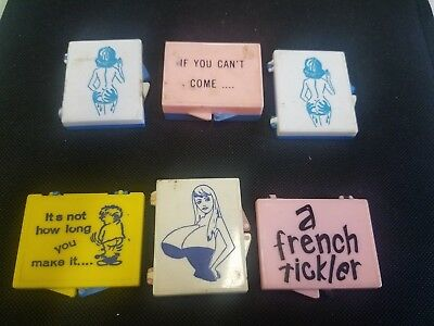 Novelty Tiny Box sayings lot of 6