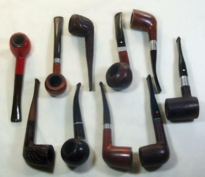 Vintage Lot Of 10 Assorted Dr. Grabow Estate Tobacco Smoking Pipes