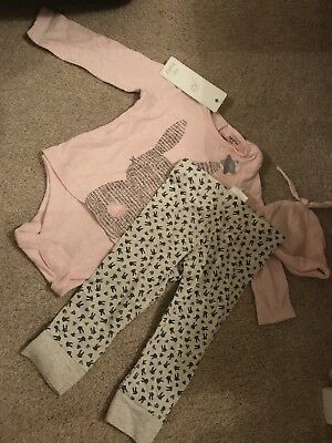 Girls F+F 3 Piece Outfit 6-9 Months