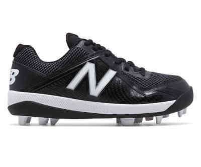 New Balance TPU Youth 4040v4 Boys Molded Baseball Cleat Black