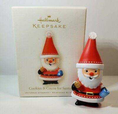 Hallmark Cookies & Cocoa For Santa 2008 Christmas Keepsake Ornaments