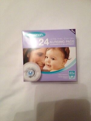 Lansinoh Disposable Nursing Pads Stay Dry Soft Breathable Absorbent Polymer Draw