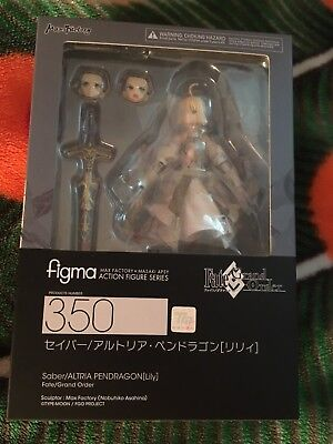 Fate/Grand Order Saber Lily figma by Goodsmile Company +phone case