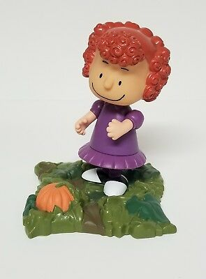 Frieda Peanuts UFS Inc. PMI 2002 Pumpkin Collectable Toy Figures Charlie Brown