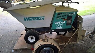 Whiteman WPB-16 Ride On Self Propelled Concrete Power Buggy