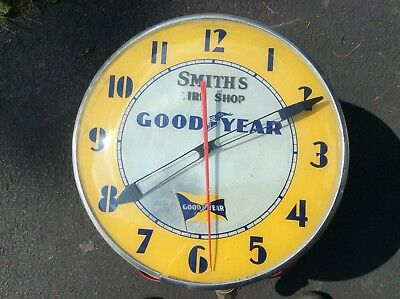 Goodyear Vintage Electric Clock