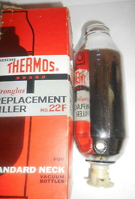 Thermos Stronglas Replacement Filler No.22F Standard Liner Unused W/ Box Vintage