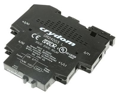 Sensata / Crydom 3 A Solid State Relay, Zero Cross, DIN Rail, 280 V ac Maximum L