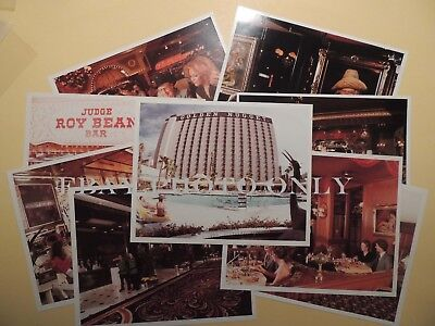 Golden Nugget Casino Hotel Las Vegas Nevada set 10 color property 8x10 photos