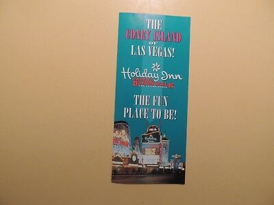 Holiday Inn Hotel Casino Boardwalk Las Vegas Nevada vintage brochure