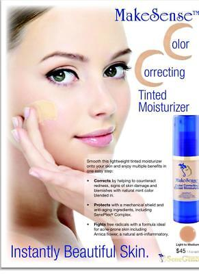 SENEGENCE MakeSense Color Correcting Tinted Moisturizer (MEDIUM) Lowest Price
