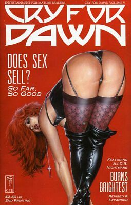 Cry For Dawn Vol #5 V 2nd Print MATURE AUDIENCE