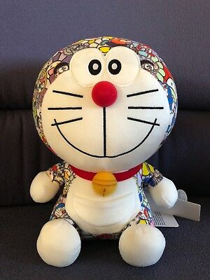 UNIQLO x Takashi Murakami x DORAEMON Plush Stuffed Toy Limited New