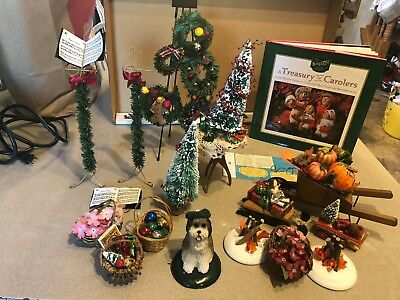 Byers Choice Carolers LOT of Misc Accessories