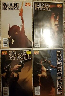 Lot of The Man With No Name #1-11 complete Clint Eastwood western Dynamite