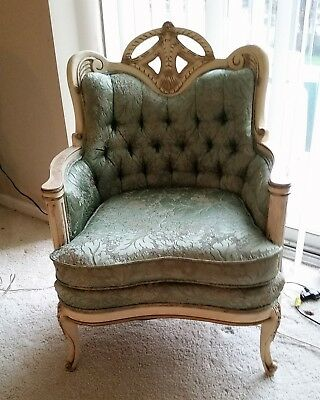 vintage french provincial chair